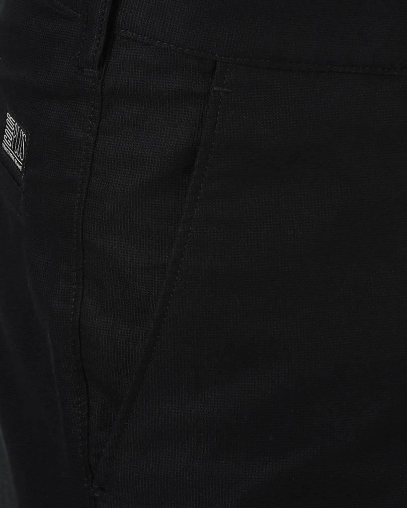 ColorPlus Black Custom Fit Trouser