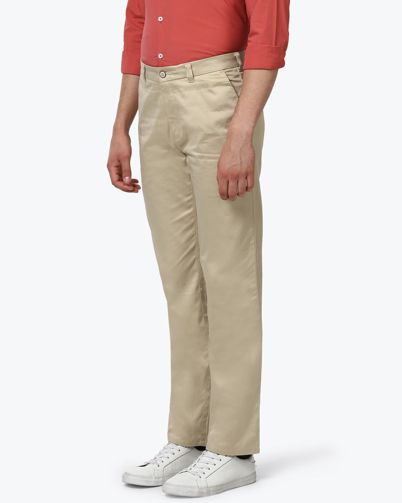 ColorPlus Fawn Custom Fit Trouser