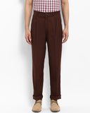 ColorPlus Dark Brown Classic Fit Trouser