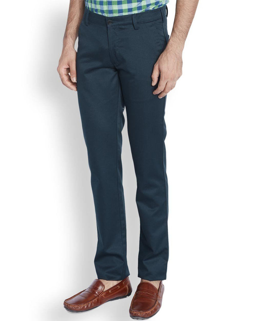 ColorPlus  Blue Contemporary Fit Trouser