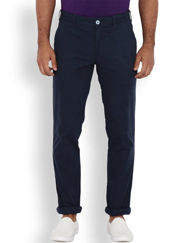 ColorPlus Dark Blue Contemporary Fit Trouser