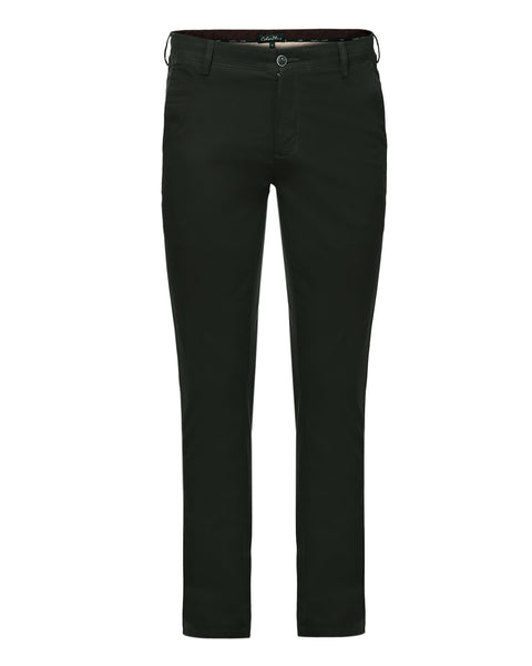 ColorPlus Dark Green Contemporary Fit Trouser