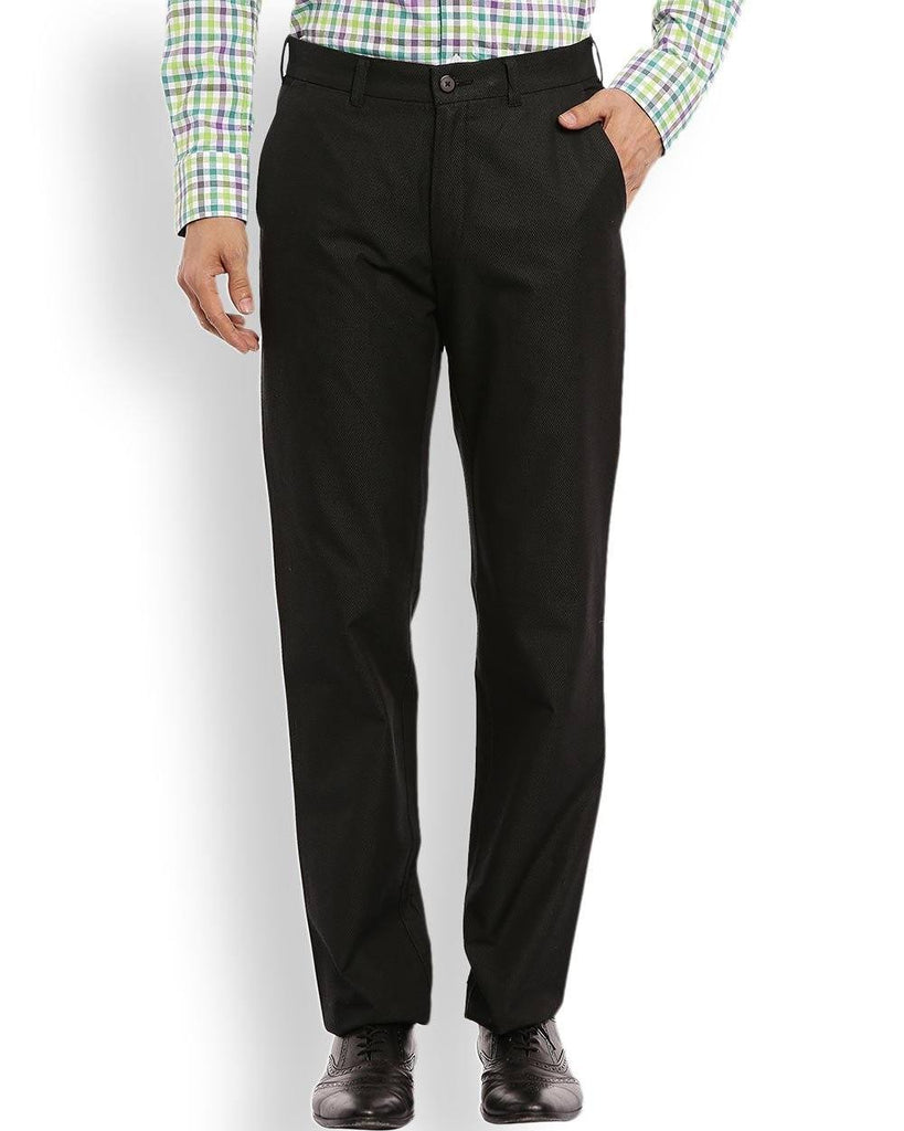 ColorPlus  Green Tailored Fit Trouser