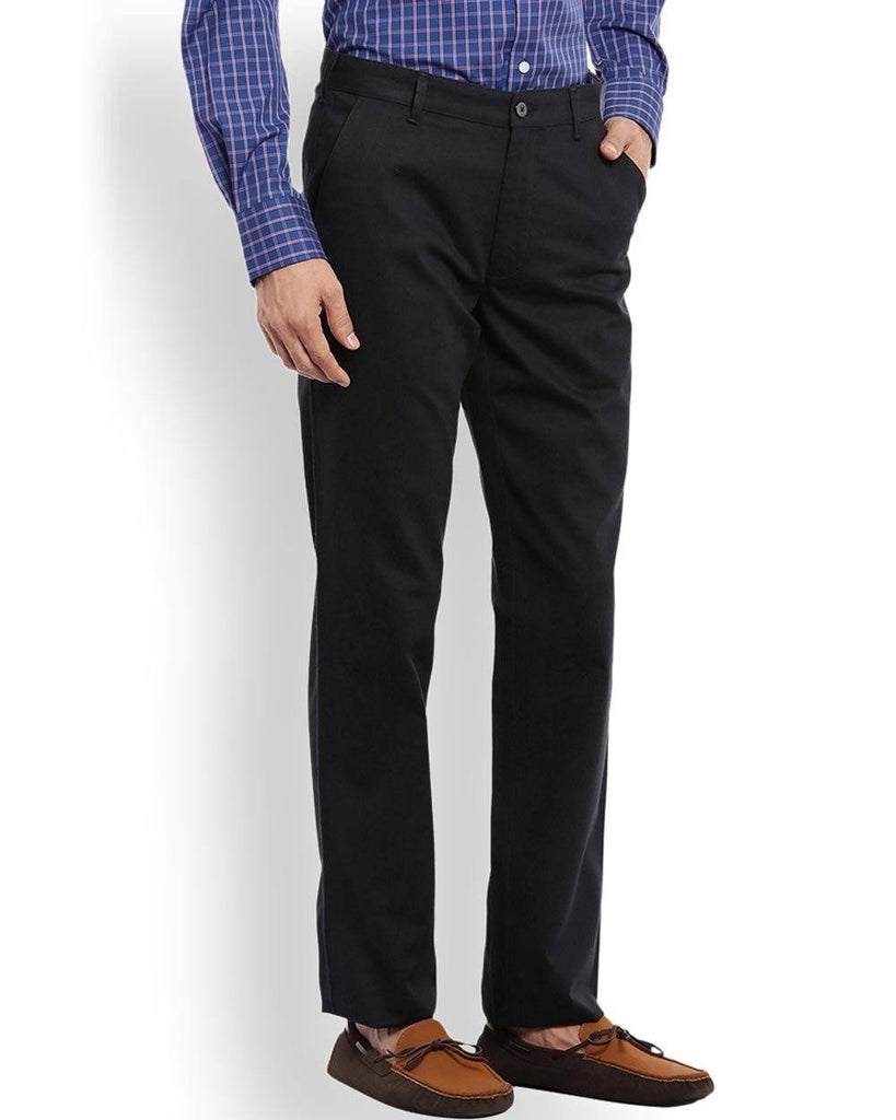 ColorPlus   Blue Tailored Fit Trouser