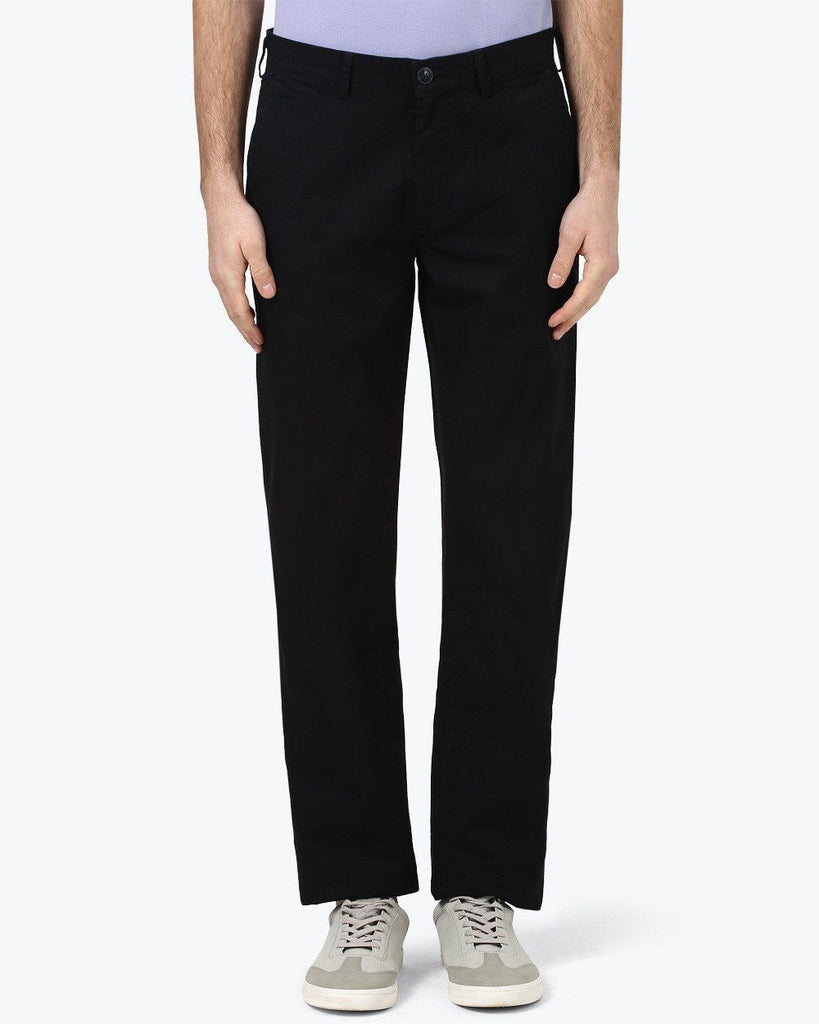 ColorPlus Black Tailored Fit Trouser