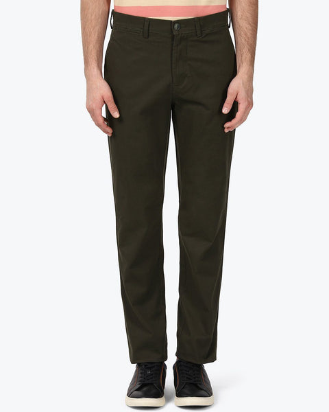 ColorPlus Dark Green Tailored Fit Trouser