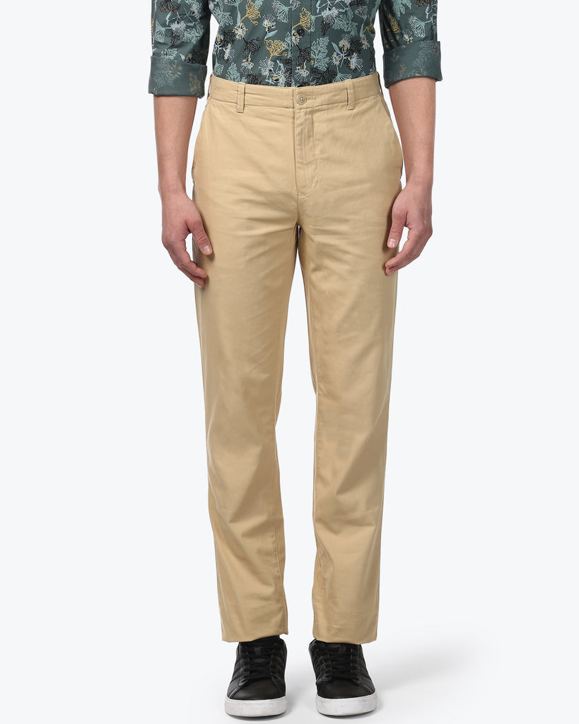 ColorPlus Fawn Tailored Fit Trouser
