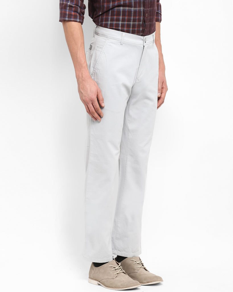 ColorPlus Grey Tailored Fit Trouser