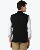 ColorPlus Black Tailored Fit Sweater