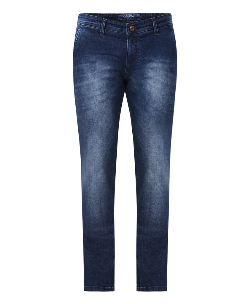 ColorPlus Blue Regular Fit Jeans