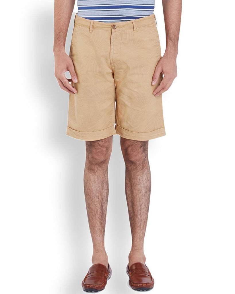 ColorPlus  Beige Contemporary Fit Short