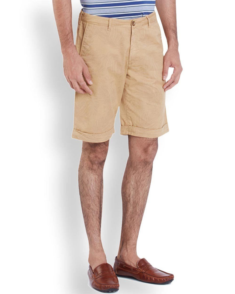 ColorPlus  Beige Contemporary Fit Shorts