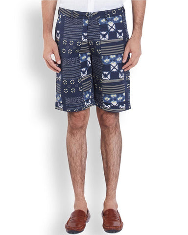 ColorPlus  Navy Blue Contemporary Fit Short