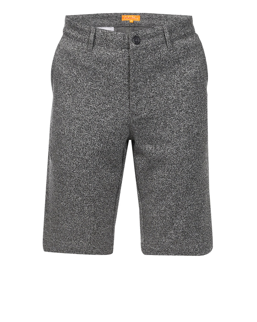 Buy ColorPlus Grey Contemporary Fit Shorts Online