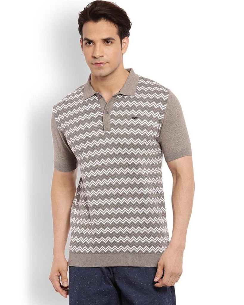 ColorPlus Grey Slim Fit T-Shirt