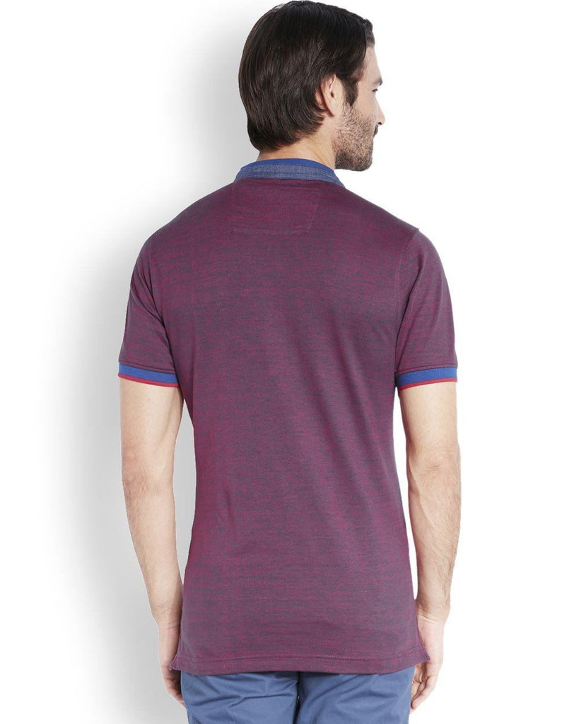 ColorPlus  Purple Tailored Fit T-Shirt