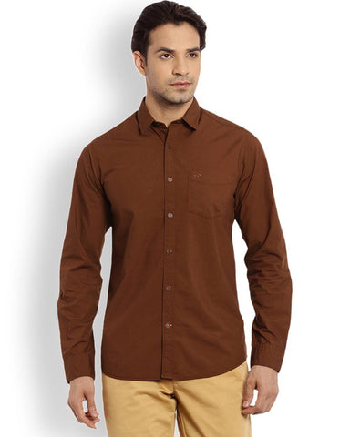 ColorPlus  Beige Contemporary Fit Shirt