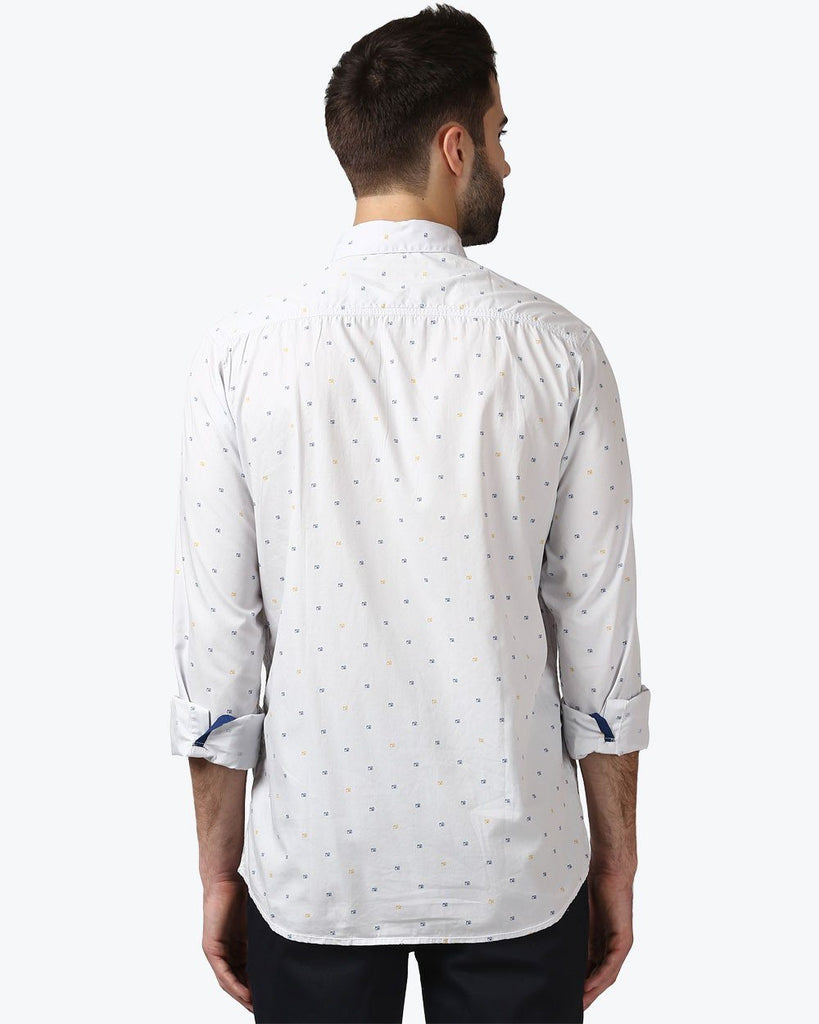 ColorPlus Grey Contemporary Fit Shirt