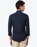 ColorPlus Navy Contemporary Fit Shirt
