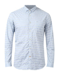 ColorPlus Blue Regualr Fit Shirt