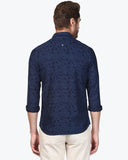 ColorPlus Dark Indigo Contemporary Fit Shirt