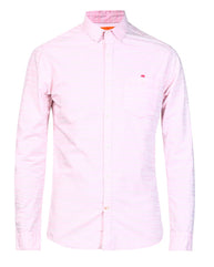 ColorPlus Pink Contemporary  Shirt