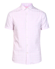 ColorPlus Violet Contemporary Fit Shirt