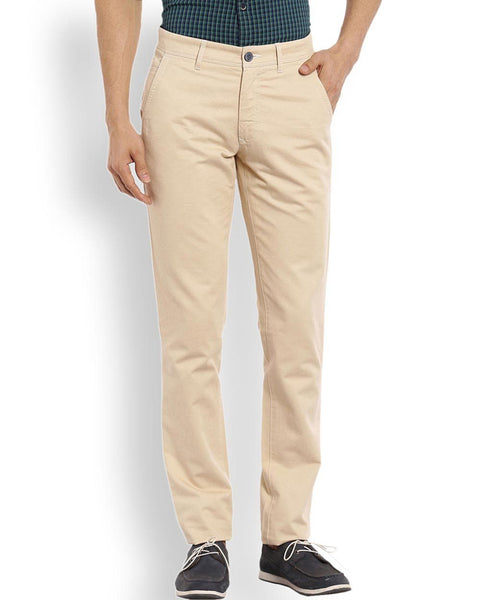 ColorPlus  Beige Contemporary Fit Trouser