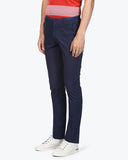 ColorPlus Medium Blue Regular Fit Trouser