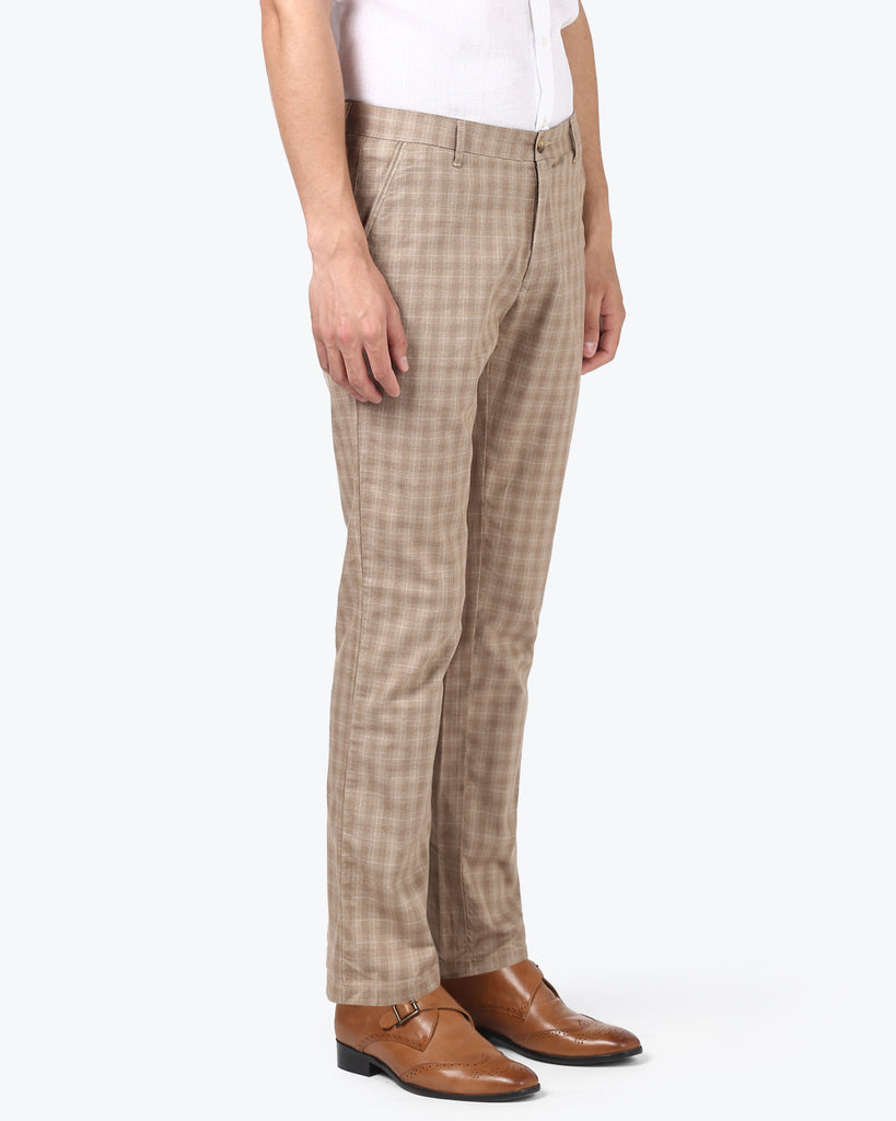 ColorPlus Fawn Contemporary Fit Trouser