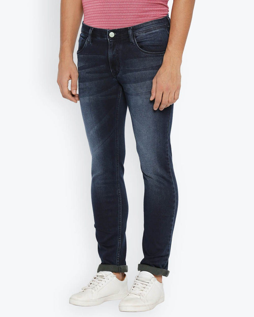 ColorPlus Light Blue Tapered Fit Jeans
