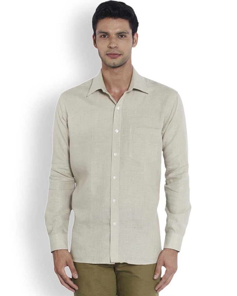 ColorPlus  Beige Neo Classic Fit Shirt