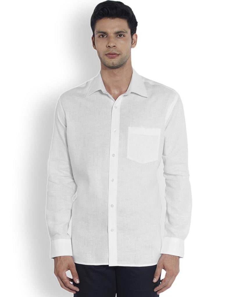 ColorPlus  White Neo Classic Fit Shirt
