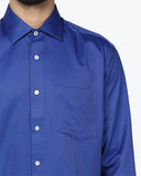ColorPlus Navy Blue Regular Fit Shirt