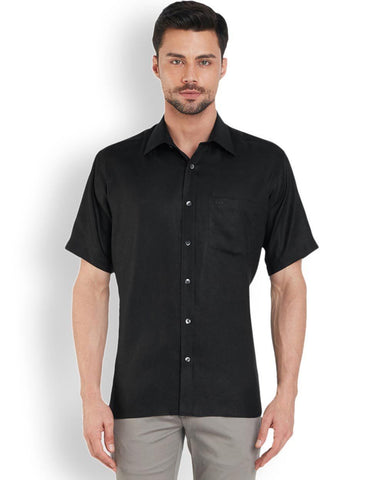 ColorPlus  Black Neo Classic Fit Shirt