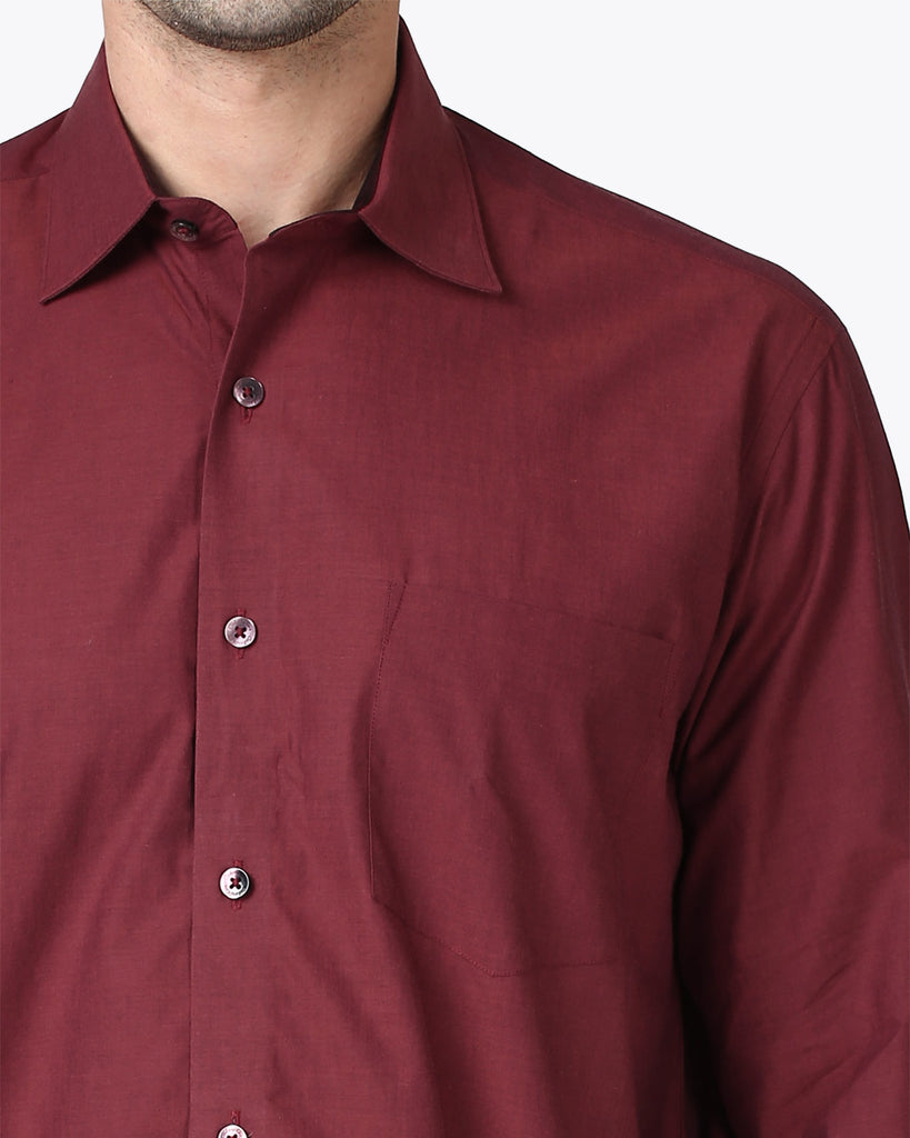 ColorPlus Red Neo Classic Fit Shirt