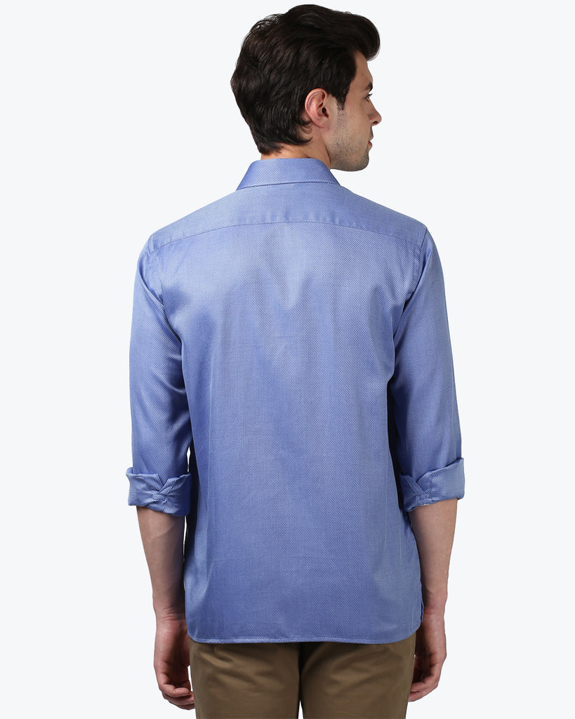 ColorPlus Blue Neo Classic Fit Shirt
