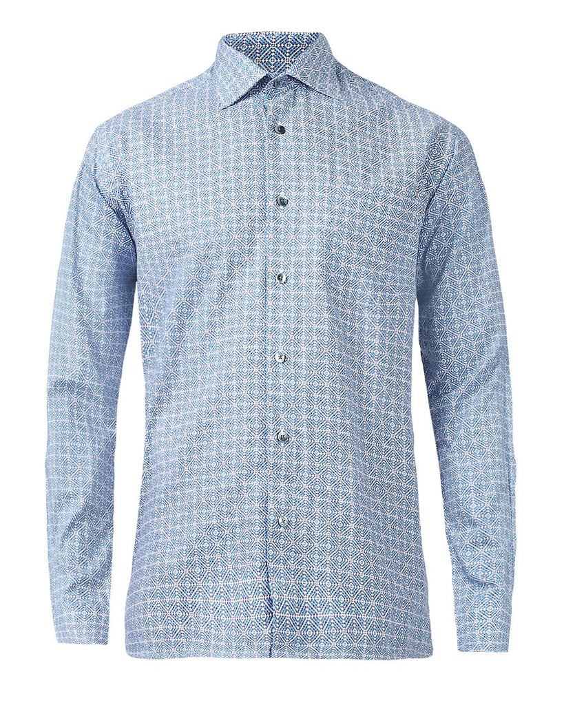 ColorPlus Blue Regular  Shirt