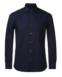ColorPlus Navy Tailored Fit Shirt