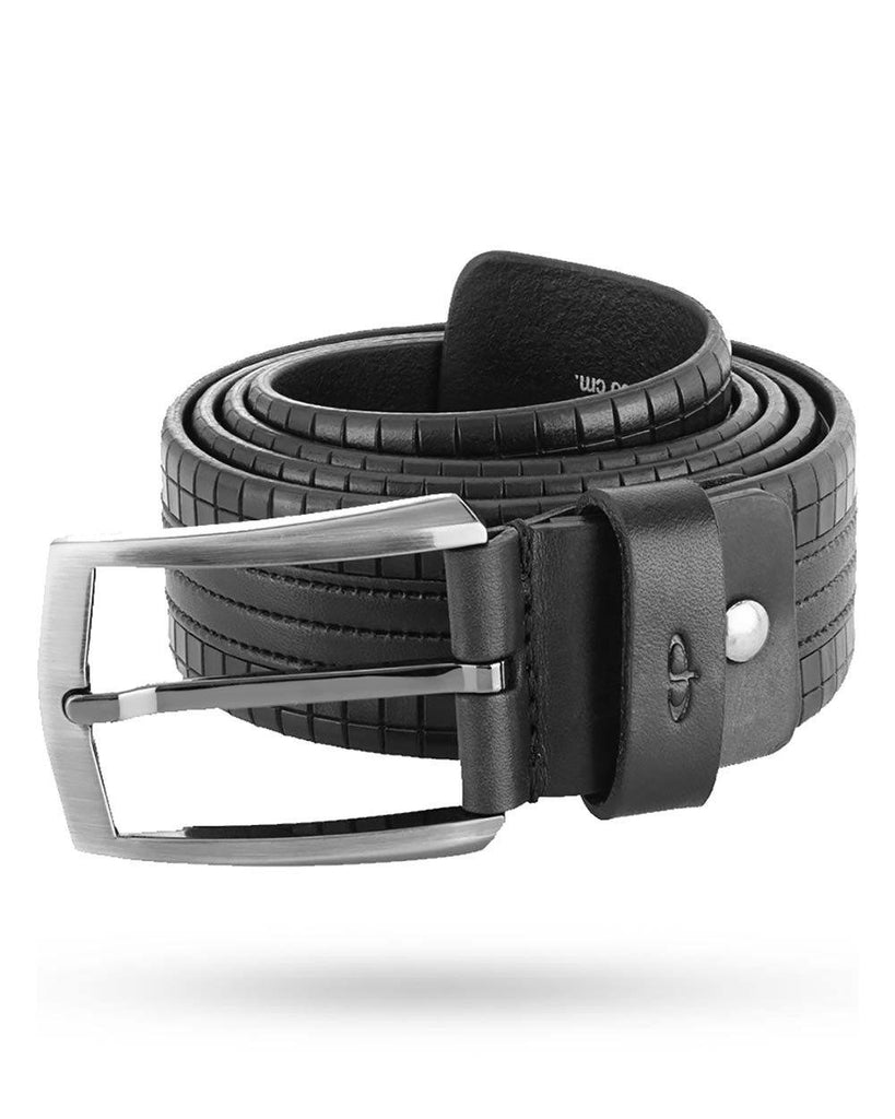 ColorPlus Black Leather Belt