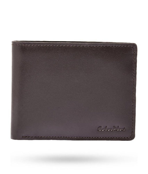 ColorPlus Brown Leather Wallet