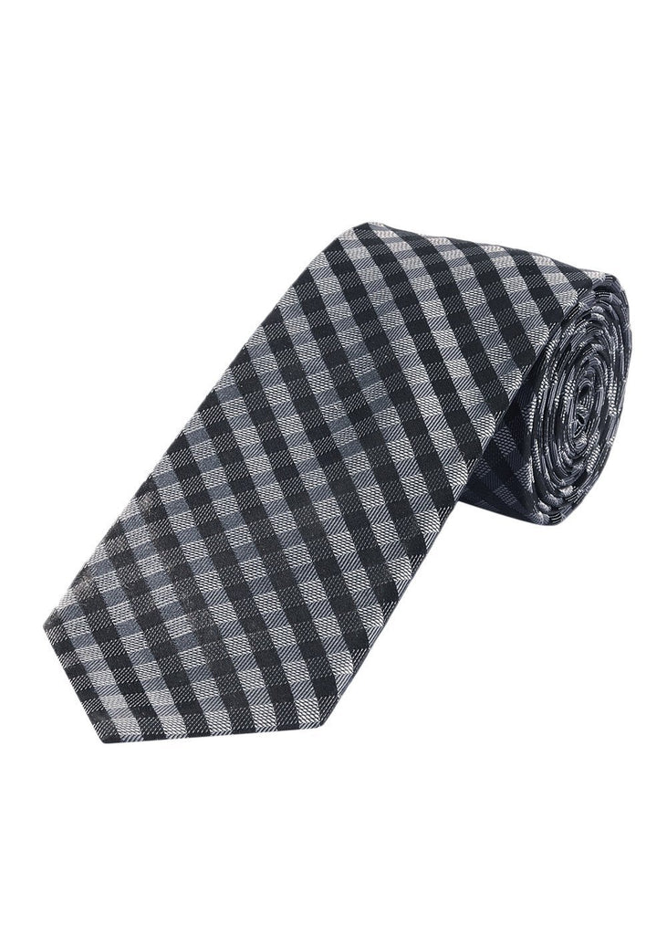 ColorPlus Black Polyester Tie