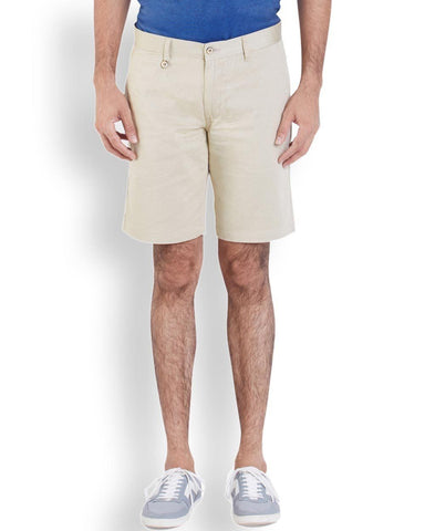 Park Avenue  Beige Casual Fit Short