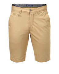 Park Avenue Light Fawn Slim Fit Shorts