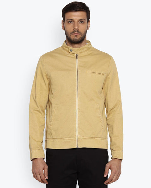 Park Avenue Medium Fawn Slim Fit Jacket