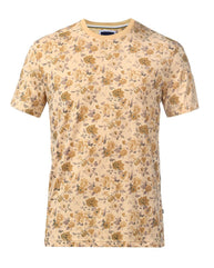 Park Avenue Beige Regular Fit T-Shirt