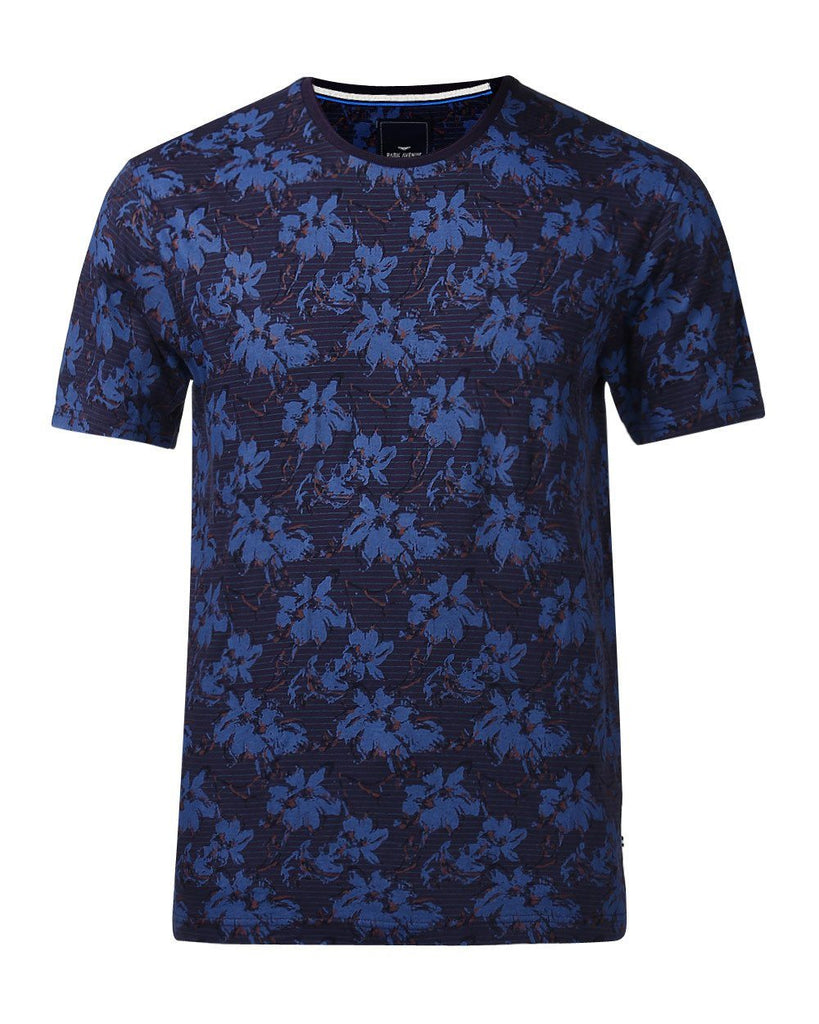 Park Avenue Purple Regular Fit T-Shirt