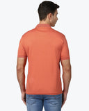 Park Avenue Orange Regular Fit T-Shirt