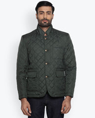 Park Avenue Dark Petrol Regular Fit Outerwear