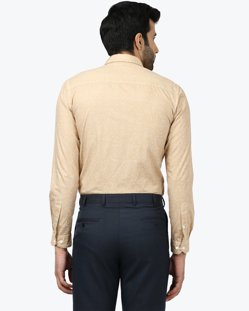 Park Avenue Fawn Slim Fit Shirt